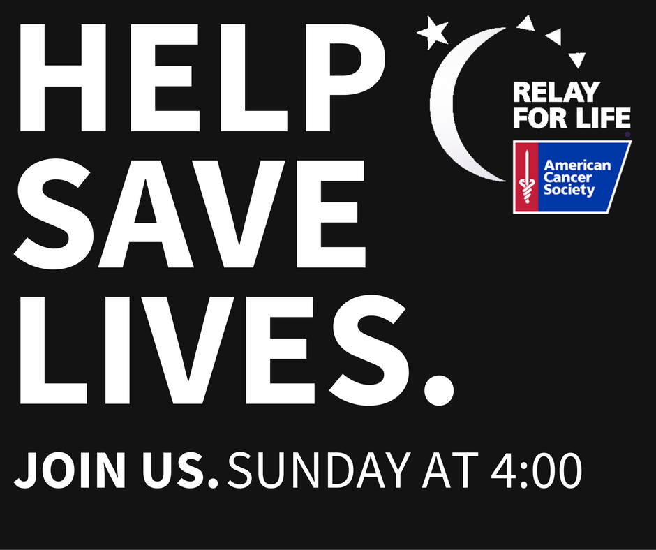 Help Save Lives with Relay For Life