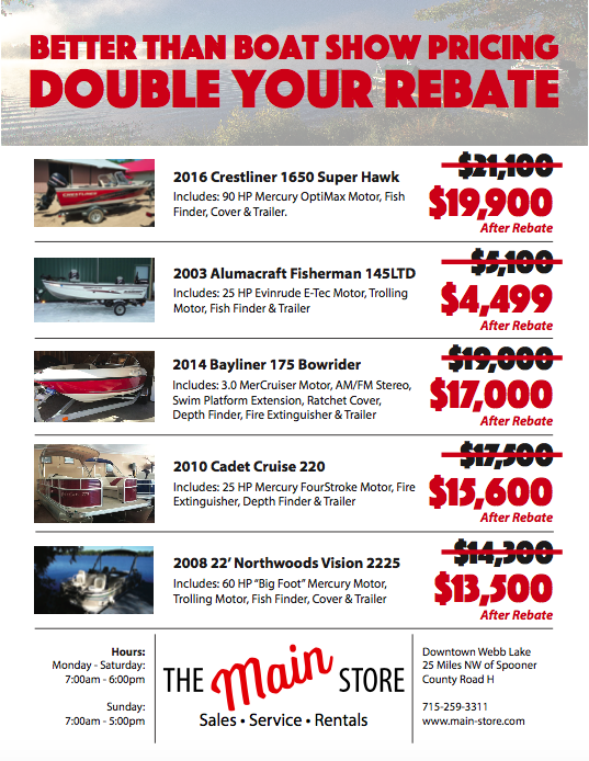 Main Store Sales Flyer