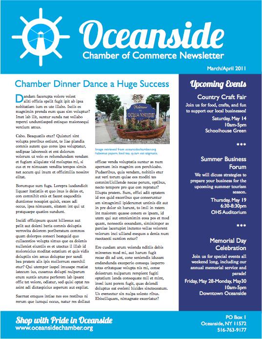 Oceanside Newsletter