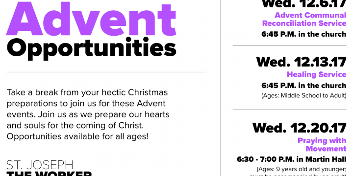 Advent Opportunities Image