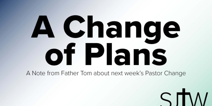 Pastor Change Announcements