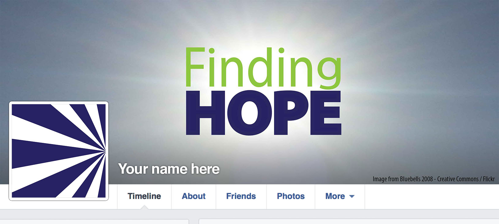 Finding Hope Facebook Layout
