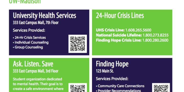 Finding Hope Postcard